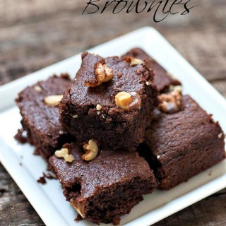 Eggless Brownies – Eggless Chocolate Brownie Recipe