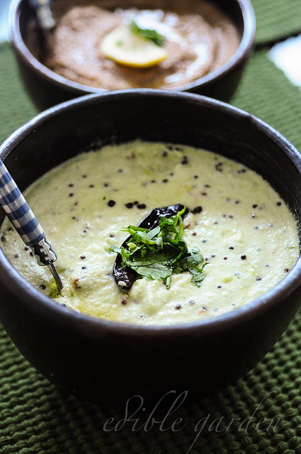 south indian coconut chutney recipe for idli dosa