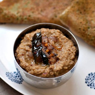 Brinjal Chutney Recipe – Eggplant Thogayal for Dosa, Idli, Rice