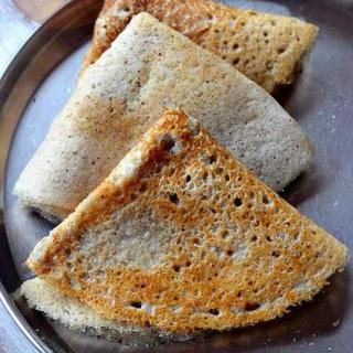 Jowar Dosa – Sorghum (Jonnalu) Dosa –  South Indian Dosa Recipes