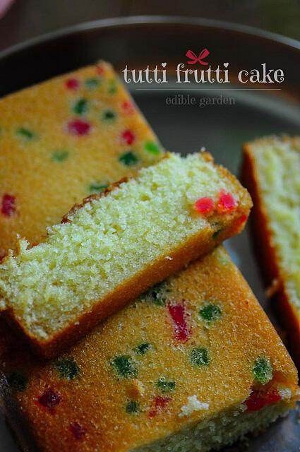tutti frutti buttermilk christmas cake recipe