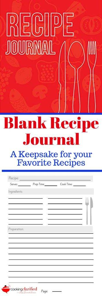 Recipe Journals Create a Keepsake for Your Favorite Recipes - recipe journals