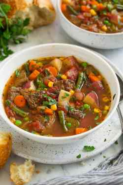 Graceful Vegetable Beef Soup Vegetable Beef Soup Cooking Soup Or Stew Ground Beef Soup Vs Stew Vs Chowder Vs Bisque