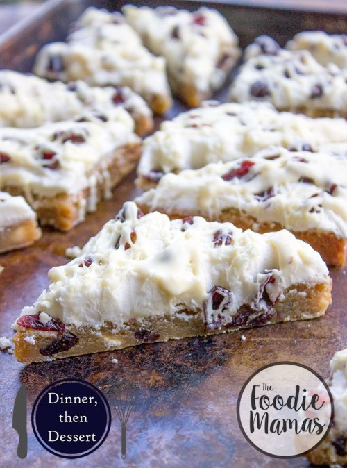 This fool proof copycat version of Starbucks White Chocolate Cranberry Bliss Bar by Sabrina of Dinner then Dessert. Recipe here: http://dinnerthendessert.com/starbucks-white-chocolate-cranberry-bliss-bars-copycat