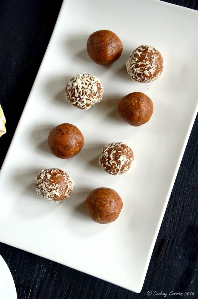 Almond Peanut Butter Rum Balls & A Kid Friendly Version of ...