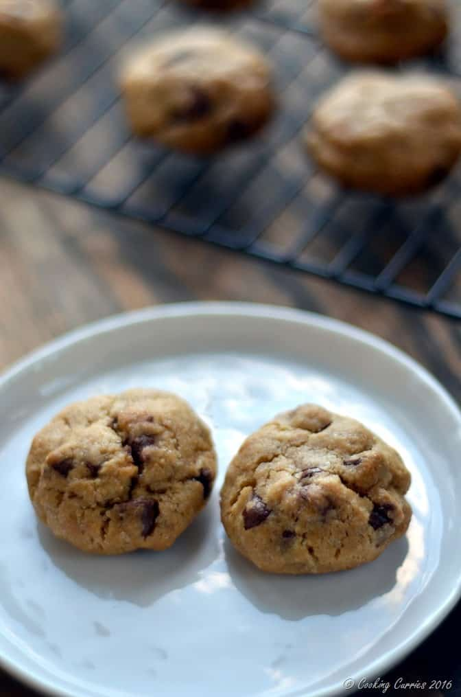 Eggless Chocolate Chip Cookies with Condensed Milk (2)