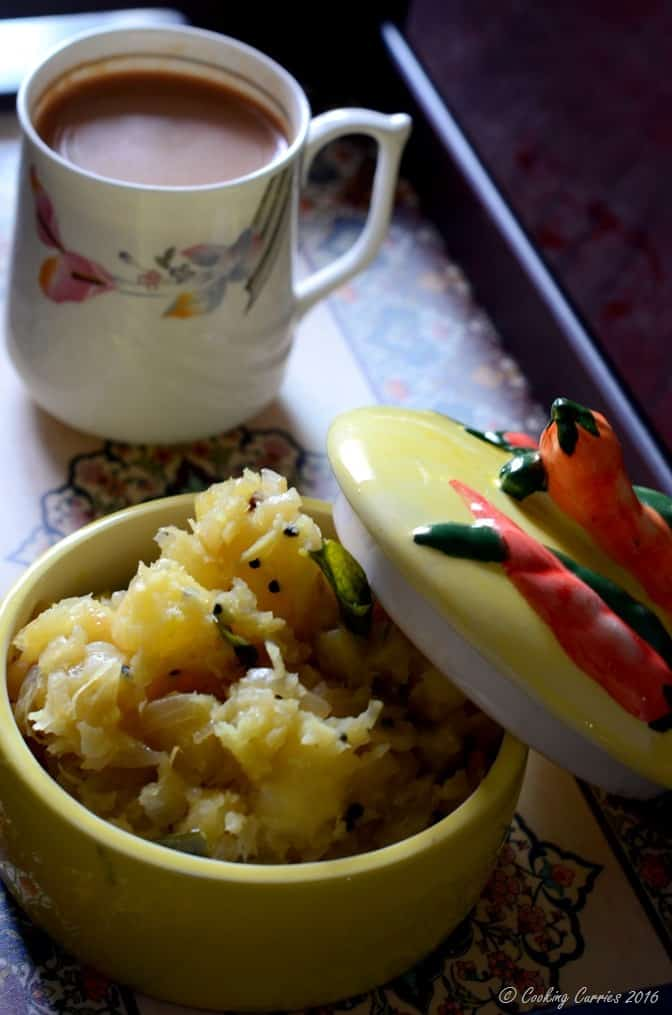 Kerala Kappa Masala -Kerala Style Spiced Tapioca Mash (2)