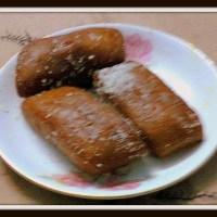 Fried Coconut Sweet / Chitrakut / Bengali Coconut Sweet