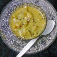 Green Olive Chutney / Bengali Jalpai - Er Chutney