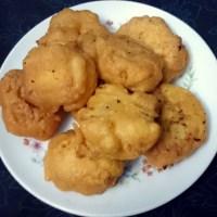 Deep Fried Snacks With Bombay Duck/Loitta Macher Chop.