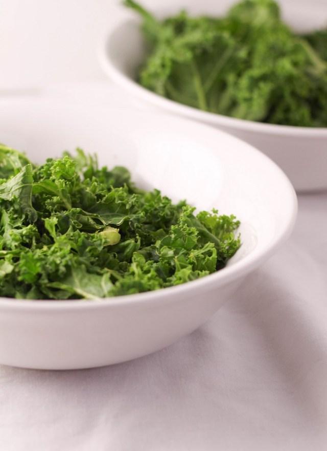 Massaging Kale
