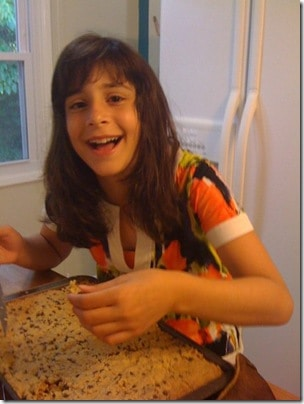 Child baking tradition