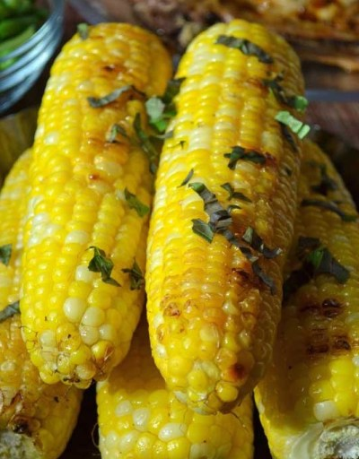 Corn-Basil-Butter-Roasted-Corn-on-the-Cob-A-Pretty-Life1
