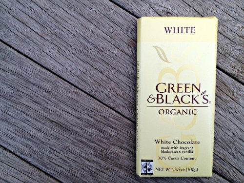 Green & Black's White Chocolate Bar