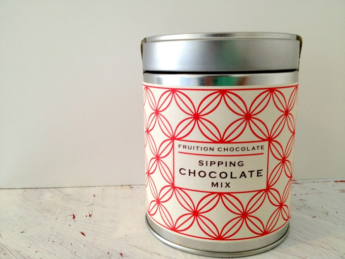 Taste Fruition Sipping Chocolate