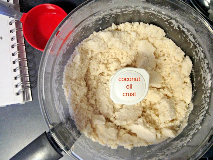 Coconut Oil Crust