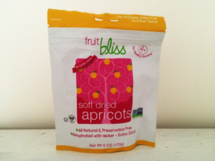 Dried Apricots by Fruit Bliss