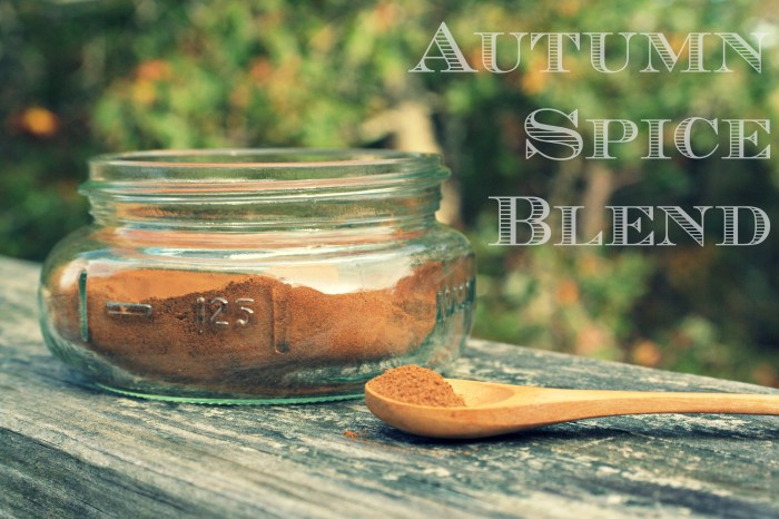 Autumn Spice Blend