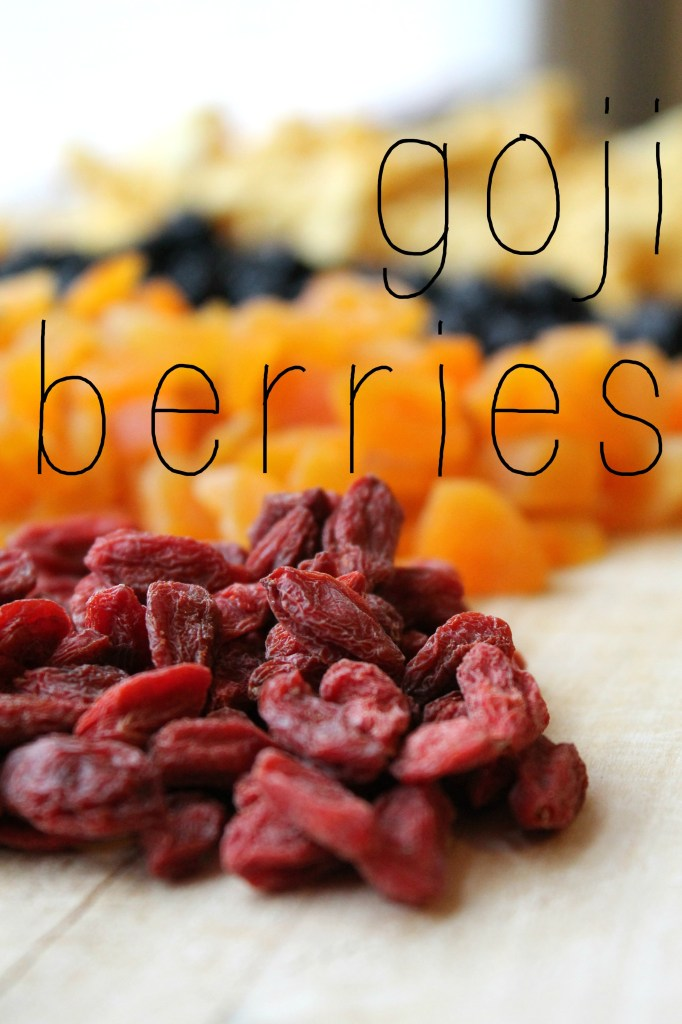 DIY Instant Oatmeal Packets Goji Berries