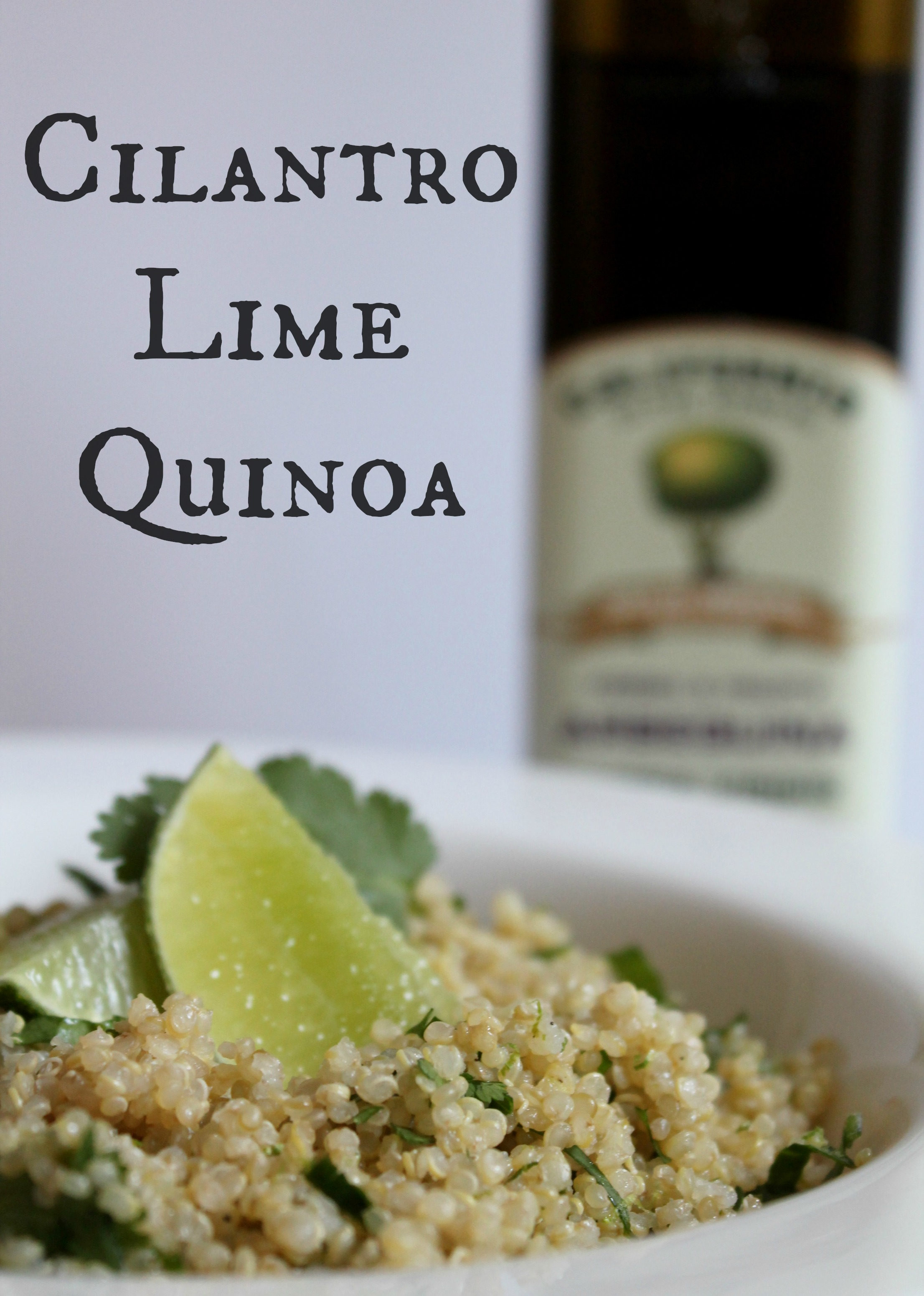 Cilantro Lime Quinoa - Cooking with Books