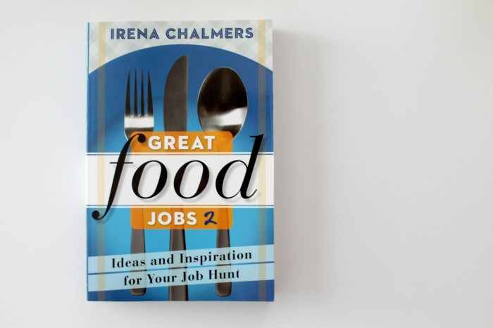 Great Food Jobs 2 Book