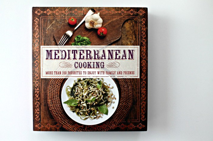 Mediterranean Cooking Cookbook