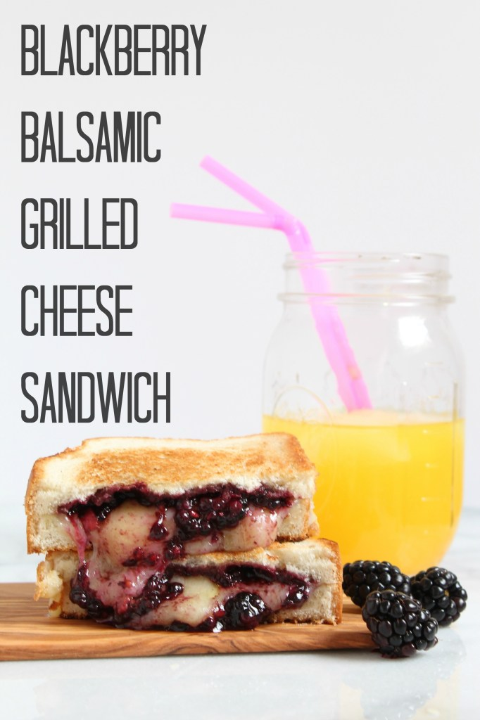 Blackberry Balsamic Grilled Cheese Sandwich5