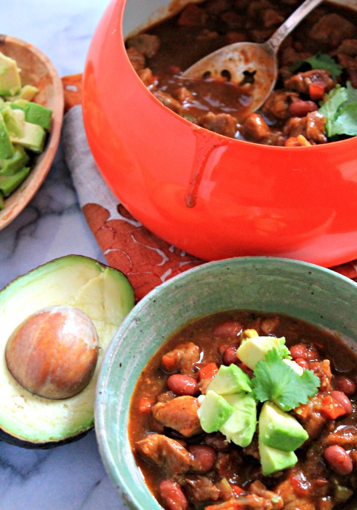 Spicy Red Bean and Pork Chili, a hearty and satisfying meal!