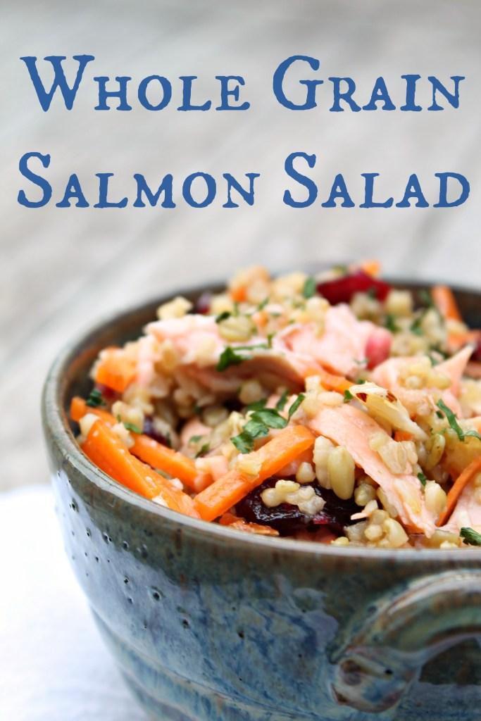 Whole Grain Salmon Salad 01
