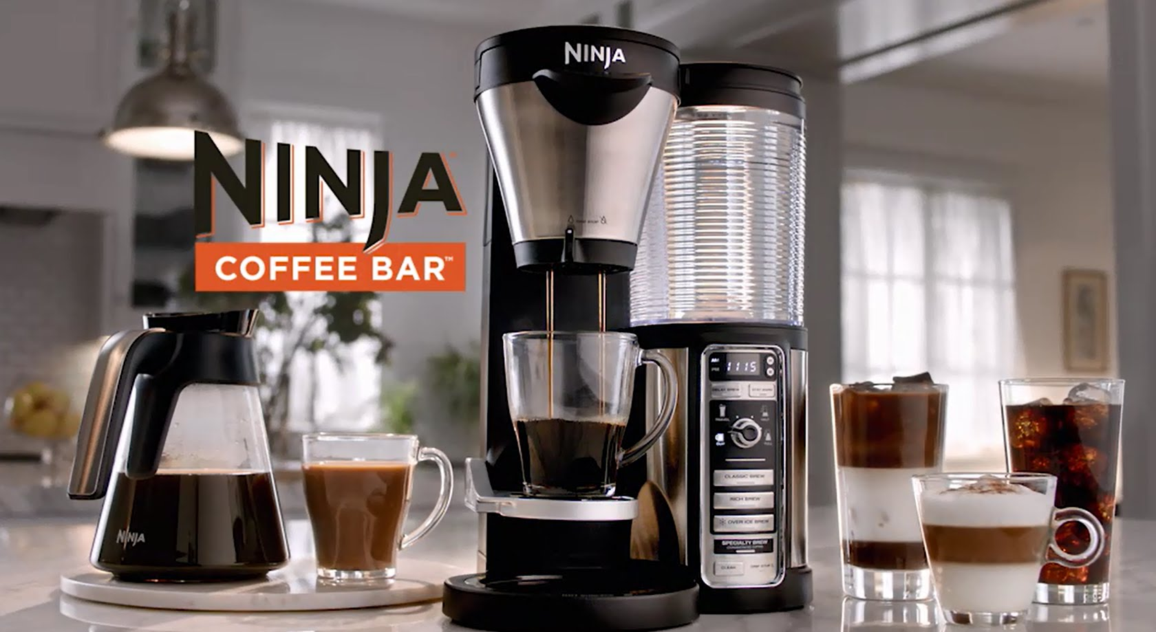 Ninja Coffee Bar set giveaway