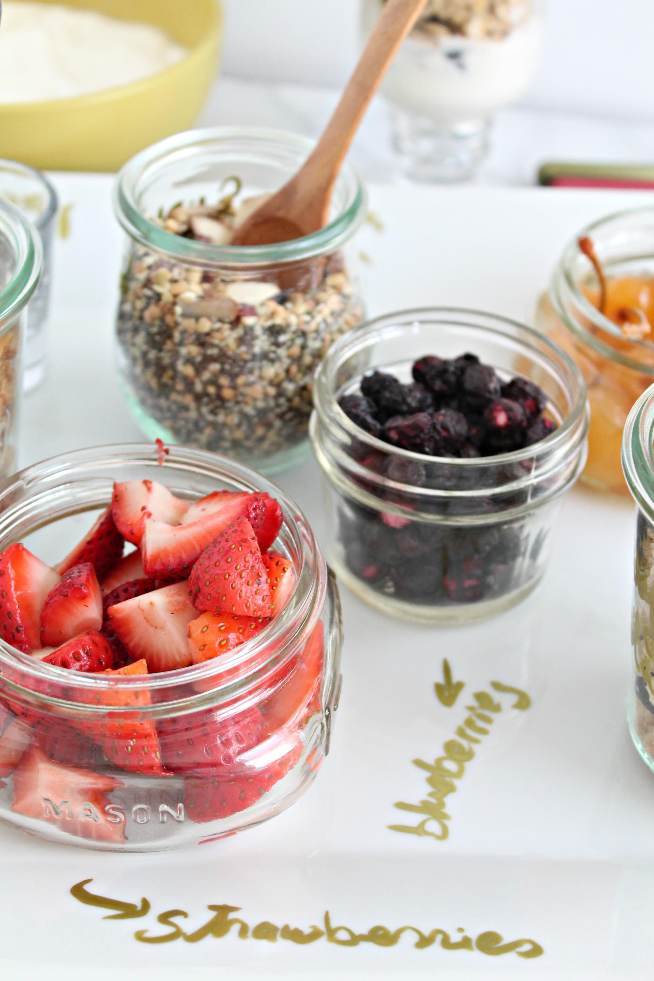 easy brunch ideas diy yogurt bar cooking with books