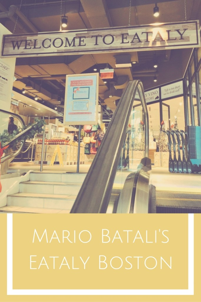 Mario Batali's Eataly Boston