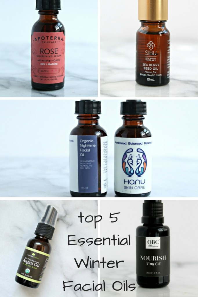 5 Essential Winter Facial Oils