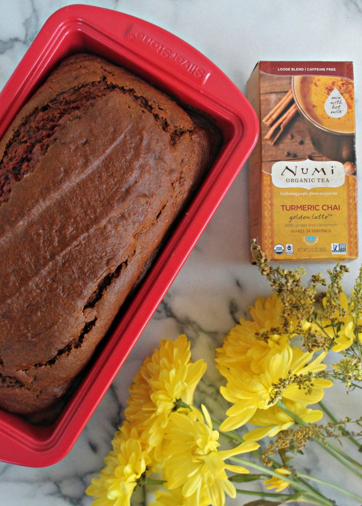 Turmeric Chai Pumpkin Bread recipe