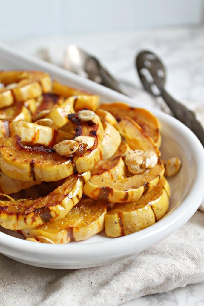 Maple Roasted Delicata Squash recipe