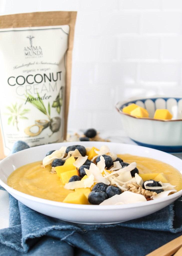 Mango Coconut Smoothie Bowl recipe