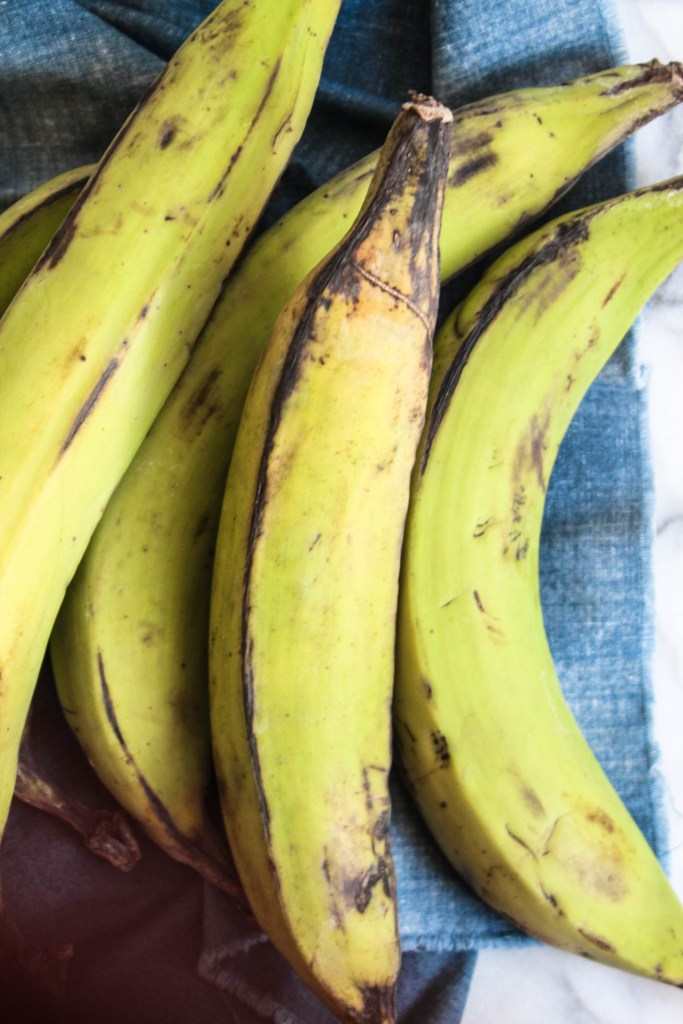 Mashed Green Plantains recipe