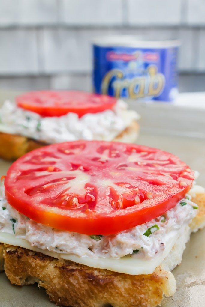 Deviled Crab Melts recipe