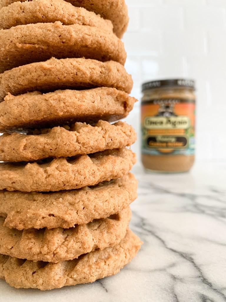 3 Ingredient Cashew Cookies-8