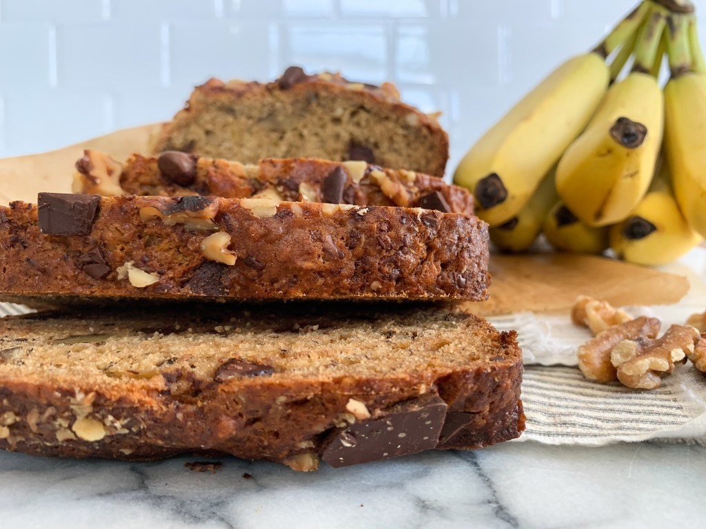 Walnut Chocolate Banana Bread-17