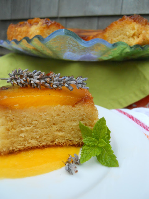 Sticky Mango Pudding Cake is a moist, delicious cake made with fresh mangos, and a secret ingredient of mashed potato flakes! Get the recipe from CookingWithBooks.net