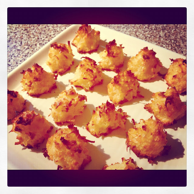 Pineapple Coconut Macaroons