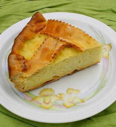 Nonna Edda's Ricotta Pie