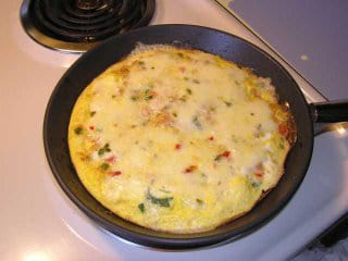 Spicy Vegetable Omelet