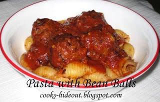 Pasta with Beanballs