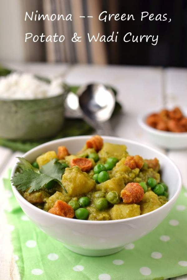 Nimona (Green Pea & Potato Curry)
