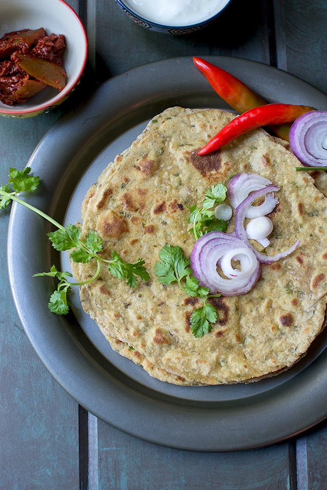 Dhapate (Spicy Maharashtrian Flatbread)