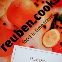 Dinner with Reuben Riffel