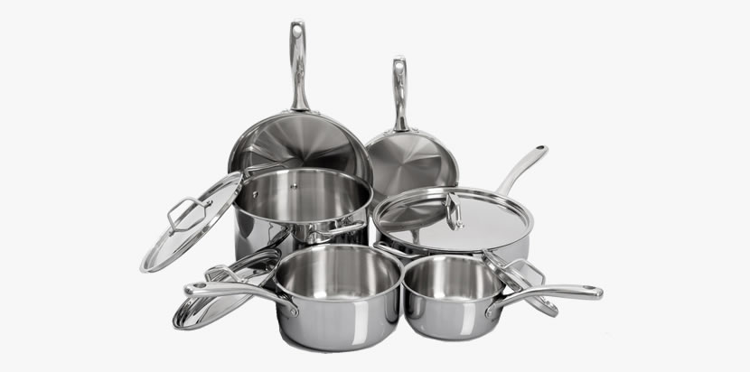 Duxtop Whole-Clad Tri-Ply Stainless Steel Cookware Set, 10-Piece Review