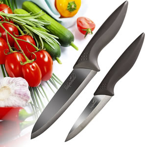 Solutionelle™ Chef And Paring Knives With Finish Blades 2 Piece Set Review   Best